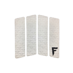 [스킴보드]Freak Traction Front Foot Traction Pad - Quatro White(웨이크서핑)