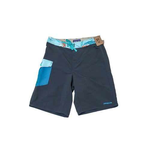 Patagonia - Black Flower BOARDSHORT