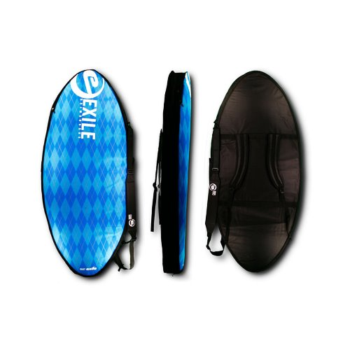 Exile Skimboards Travel Bag - Light Blue Deluxe (Double)(스킴보드 가방)