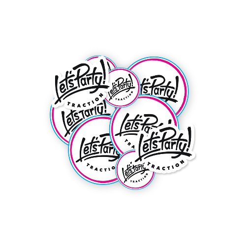 [스킴보드]Let's Pary Stickers Pack