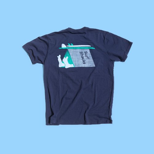 [Indoek]Surf Shacks Hobo Tee(서핑 문화)(스킴보드)