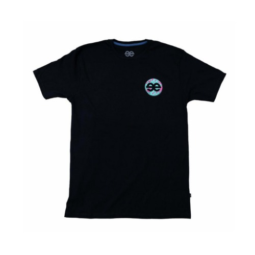 Equilibrium - Chill Bro X Carolina Torres Black Tee