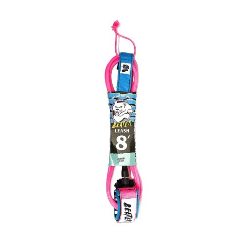 Beater 8' Pro-Comp Leash - Pink